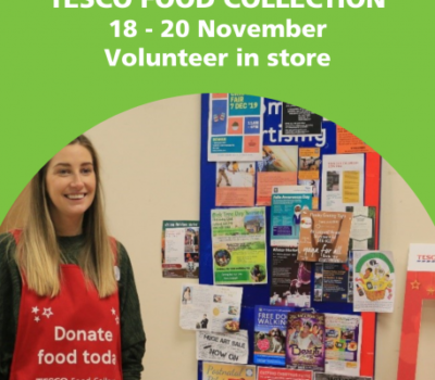 Read more about Volunteers Needed For Tesco Christmas Food Collection